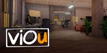 Produktvorschau Viou: Virtuelles Büro mit moderner Einrichtung